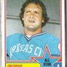 GEORGE BRETT 1983 Topps AS #388.  ROYALS