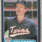 BERT BLYLEVEN 1986 Fleer #386.  TWINS