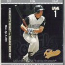 CARLOS BELTRAN 2004 Fleer Tradition Authentix #47.  ROYALS