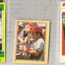 JOHNNY BENCH 1982, 1984 + 1987 Odds w/ mini + Drakes