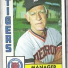 SPARKY ANDERSON 1984 Topps #259.  TIGERS