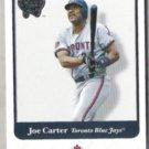 JOE CARTER 2001 Fleer Best of the Game #47.  JAYS