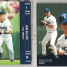 HANK BLALOCK (2) Playoff Prestige Cards 2003 + 2005.