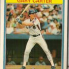 GARY CARTER 1987 Kay Bee Super Stars #8 of 33.  METS