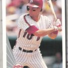 DARREN DAULTON 1990 Leaf #369.  PHILLIES