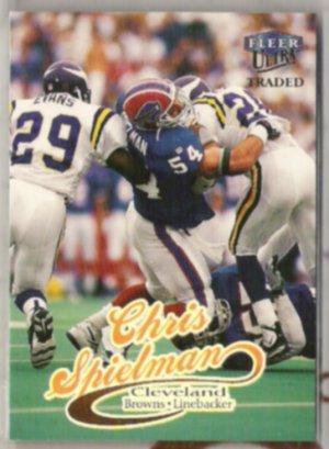 CHRIS SPIELMAN 1999 Fleer Ultra Traded #24.  BILLS