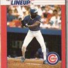 ANDRE DAWSON 1988 Kenner SLU Card.  CUBS