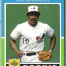 ANDRE DAWSON 2001 UD Decade Rookie Flashback.  EXPOS