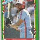 ANDRE DAWSON 1987 Fleer Star Stickers #33.  EXPOS