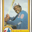 ANDRE DAWSON 1984 Topps Nestle #16.  EXPOS