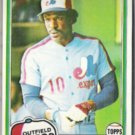 ANDRE DAWSON 1981 Topps #125.  EXPOS