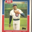 ANDRE DAWSON 1988 Topps Rite Aid MVP Odd #2 of 33.  CUBS