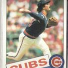 DENNIS ECKERSLEY 1985 Topps #163.  CUBS