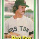 DENNIS ECKERSLEY 1981 Donruss #96.  RED SOX