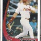 JIM EDMONDS 2002 Topps Post Insert #5 of 30.  CARDS