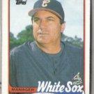JIM FREGOSI 1989 Topps #414.  WHITE SOX