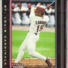 JIM EDMONDS 2002 Fleer Genuine #95.  CARDS