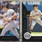 TRAVIS FRYMAN (2) Card Lot:  Pinnacle Team 2000 + 2001 Inserts