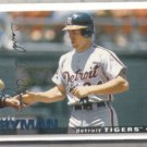 TRAVIS FRYMAN 1995 Upper Deck CC Silver Sig.  TIGERS
