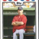TERRY FRANCONA 2008 Topps #123.  RED SOX