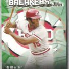GEORGE FOSTER 2003 Topps Record Breaker Insert #RB-GF.  REDS
