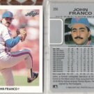JOHN FRANCO (2) 1990 Leaf #356.  METS