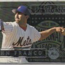 JOHN FRANCO 1995 Ultra League Leader Insert #10 of 10.  METS