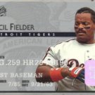 CECIL FIELDER 1995 Studio #45.  TIGERS