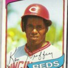 KEN GRIFFEY 1980 Topps #550.  REDS