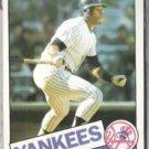 KEN GRIFFEY 1985 Topps #380.  YANKEES