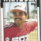 OZZIE GUILLEN 1986 Topps #254.  WHITE SOX