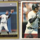 OZZIE GUILLEN 1997 + 1998 Topps.  WHITE SOX