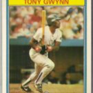 TONY GWYNN 1987 Kay Bee Super Stars Odd #15 of 33.  SD