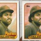 TONY GWYNN (2) 1989 Topps #570.  PADRES