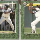 TONY GWYNN (2) 1992 Ultra Career Highlights Inserts.  PADRES