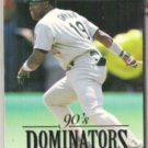 TONY GWYNN 1993 Donruss Dominators Insert #1 of 10.  PADRES