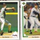 TOM GLAVINE (2) 1991 Upper Deck #480 + AS #90F.  BRAVES