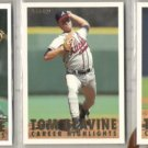 TOM GLAVINE (3) 1993 Fleer Career HL #'s 1, 15 + 13.  BRAVES