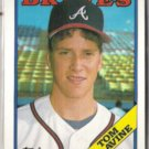 TOM GLAVINE 1988 Topps #779.  BRAVES