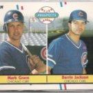 MARK GRACE 1988 Fleer Prospects #641.  CUBS