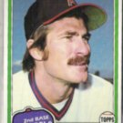 BOB GRICH 1981 Topps #182.  ANGELS