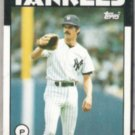 RON GUIDRY 1986 Topps #610.  YANKEES