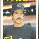 RON GUIDRY 1986 Fleer Best Odd #14 of 44.  YANKEES