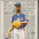 DOC GOODEN 1988 Fleer Headliners #5 of 6.  METS