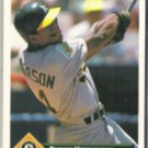 RICKEY HENDERSON 1993 Donruss #315.  A's