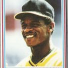 RICKEY HENDERSON 1990 Post Insert #25 of 30.  A's