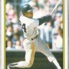 RICKEY HENDERSON 1989 Topps Glossy AS #35 of 60.  YANKEES