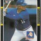 BOB HORNER 1987 Donruss #389.  BRAVES