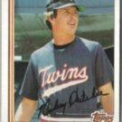 MICKEY HATCHER 1982 Topps #467.  TWINS