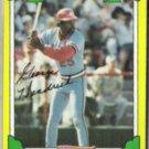 GEORGE HENDRICK 1982 Topps Drakes #17.  CARDS